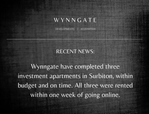 Completed Wynngate Investment Project